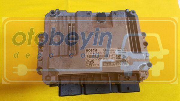 Citroen C3  207 1.4 HDI Motor Beyni  0281012529
