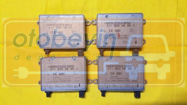 Mercedes E-klasse W211 320 CDI anten güçlendirici modülü beyni 2118200885 0681