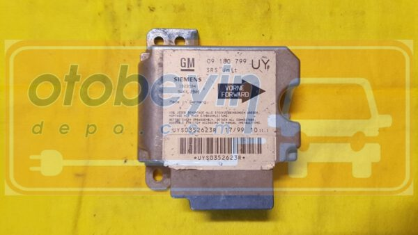 Opel Astra G Airbag Beyni Siemens 09180799 5WK42905
