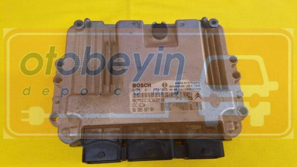 Peugeot 206 1.4 HDI Motor Beyni 0281011783