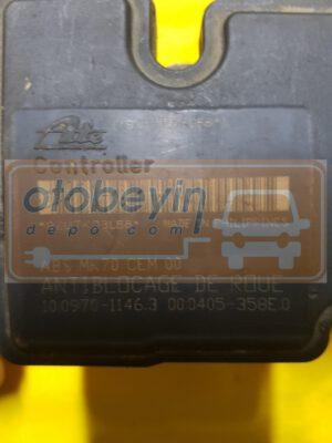 Peugeot 207 ABS ESP 9663945580 9663673780 ATE 10097011463