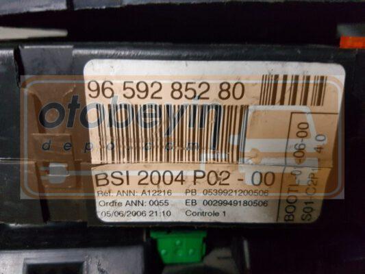 Peugeot 306 Comfort Module 9659285280 Bsi2004p02 00