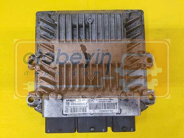 CITROEN C4 2.0 HDİ MOTOR BEYNİ SID803 5WS40201CT SW9656171680