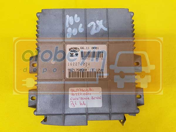 Peugeot 106 Motor Beyni 9621760680 16227.024 G6.110C01