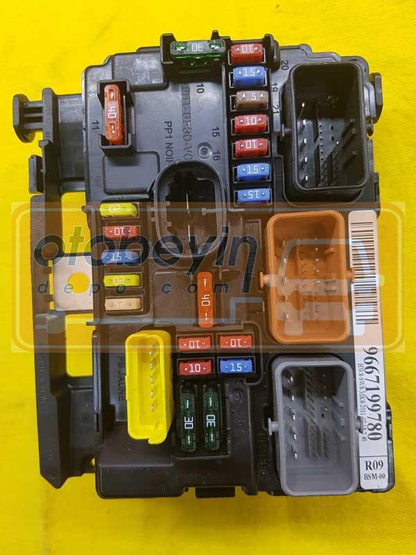 9659741780 BSM-L03-00 PEUGEOUT ,Citroen C2 C3 BSM Sigorta Kutusu