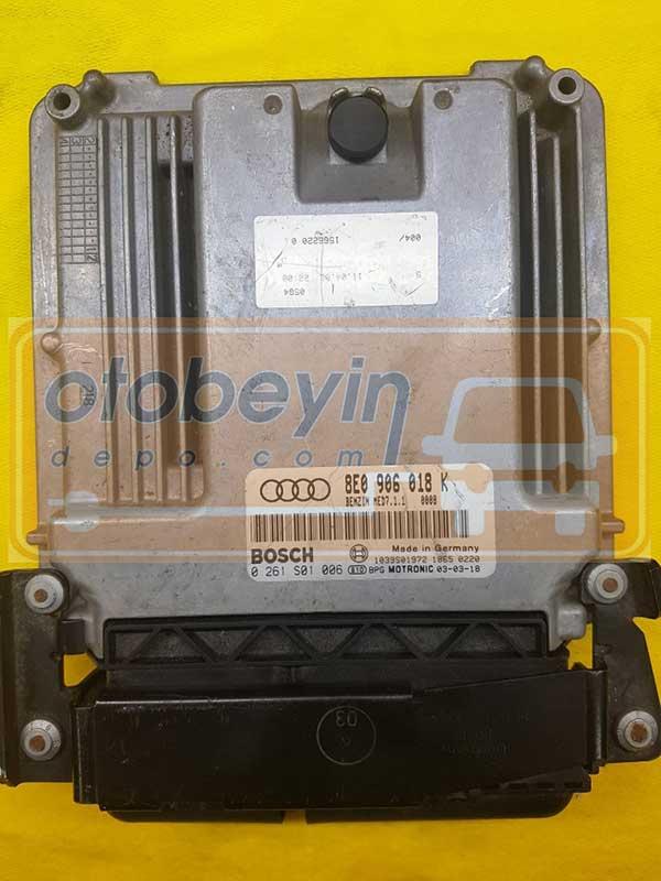 Audi A4 2.0 FSI Motor Beyni 8E0906018K