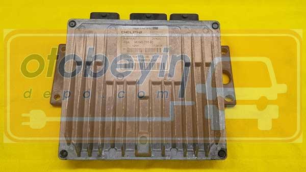CITROEN C3 1.4 HDI MOTOR BEYİNİ 9654305580 – F6B19A01 – DDCR