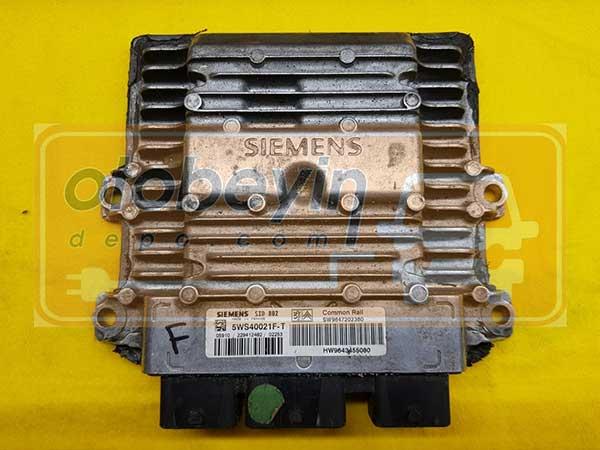 CITROEN C3 1.4 HDİ MOTOR BEYNİ 5WS40021F-T -SW9647202380-SID802
