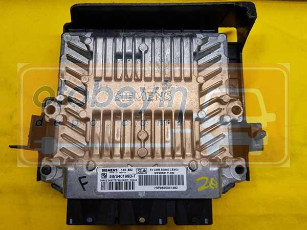 CITROEN C5 PEUGEOT 407 2.0 HDI SIEMENS 5WS40199D-T, 5WS40199DT, SW 9656171480, HW 9655041480, SID803
