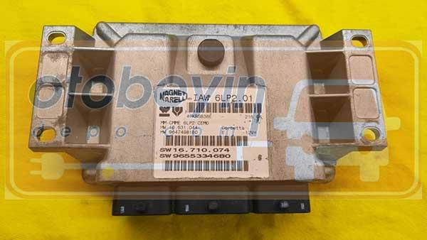 PEUGEOT 307 MOTOR BEYNİ IAW6LP201-9655334680