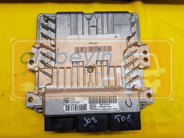 PEUGEOT 207 308 MOTOR BEYNİ S180075002 F SID807 9667155780