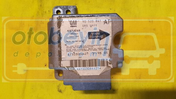 90520841 5WK4168 Opel Astra G Airbag Beyni Siemens