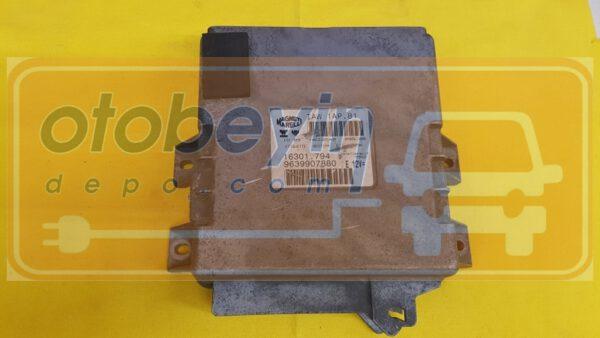 9639907880 16301.794 IAW1AP.81 Peugeot 206 Motor Beyni