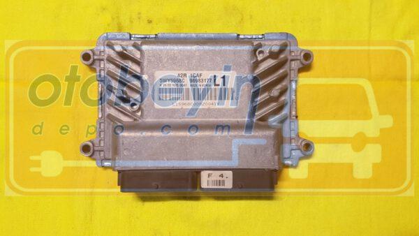 Chevrolet Aveo 1.2 Motor Beyni Siemens 96983177 5WY5968C