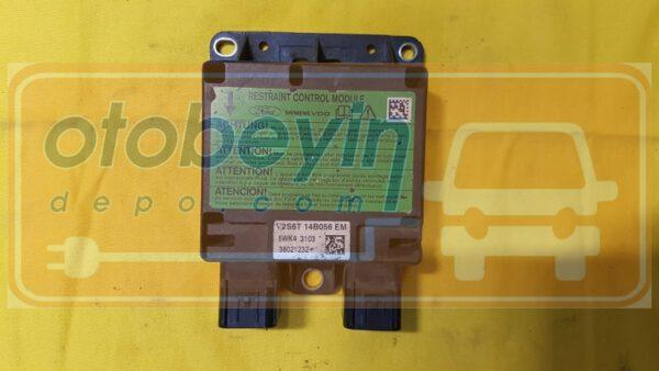 Ford Fiesta Fusion Airbag Beyni 5wk43103