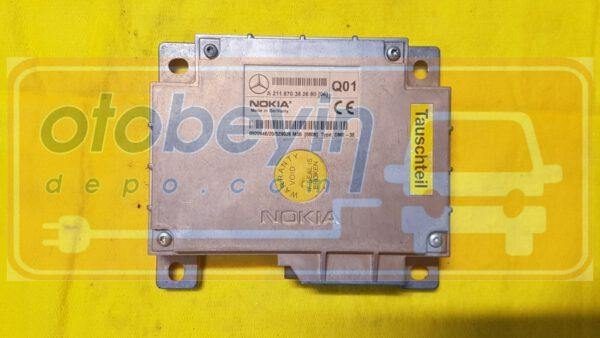 MERCEDES BENZ W211 E-class TELEFON KONTROL MODÜLÜ Nokia A211870382680