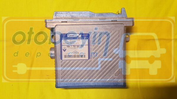 RENAULT scenic 1.9  motor beyni HOM7700868315 R04080006f