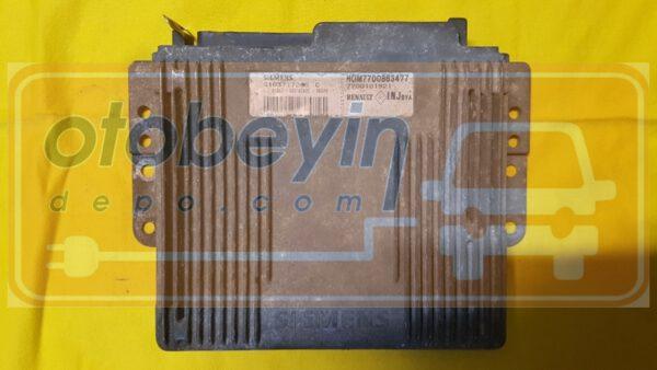 S113717205C HOM7700863477 7700102299 Renault Laguna Motor Beyni