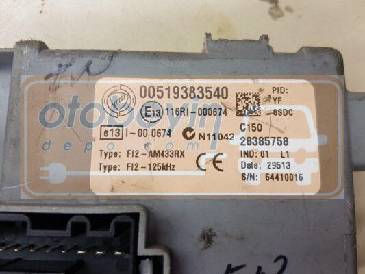 FIAT DOBLO 1.3 BODY BEYNİ 00519383540 28385758