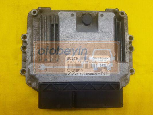 Fiat Doblo 1.9 JTD MOTOR BEYNİ 0281012865 51798819 223 4834A3ACM N1