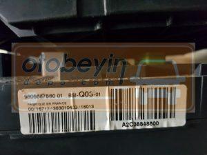 Peugeot 308 Citroen BSI Beyni 9806687880 BSI-Q03-01