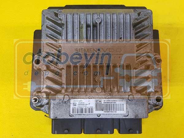 Citroen C4 Motor Beyni SID803A 5WS40615A-T SW9664287480