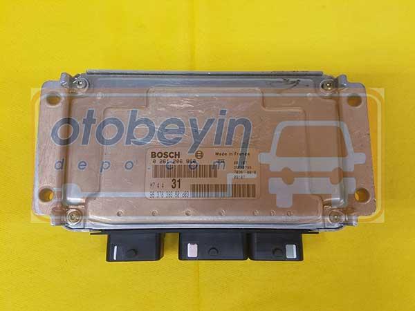 Citroen Saxo 1.6 Motor Beyni  0261206860 M7.4.4