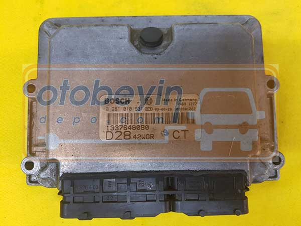 Fiat Ducato Citroen Jumper 2.8 Jtd Motor Beyni  0281010931 1337648080