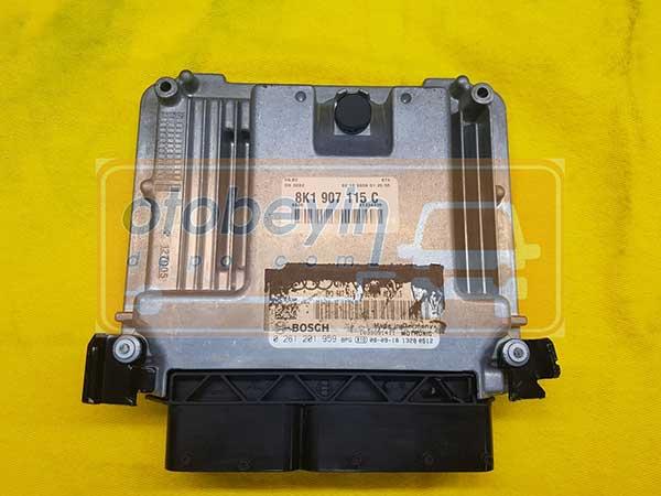 8K1907115C 0261201959 AUDI A4 1.8 TFSI MED17.5 MOTOR BEYNİ