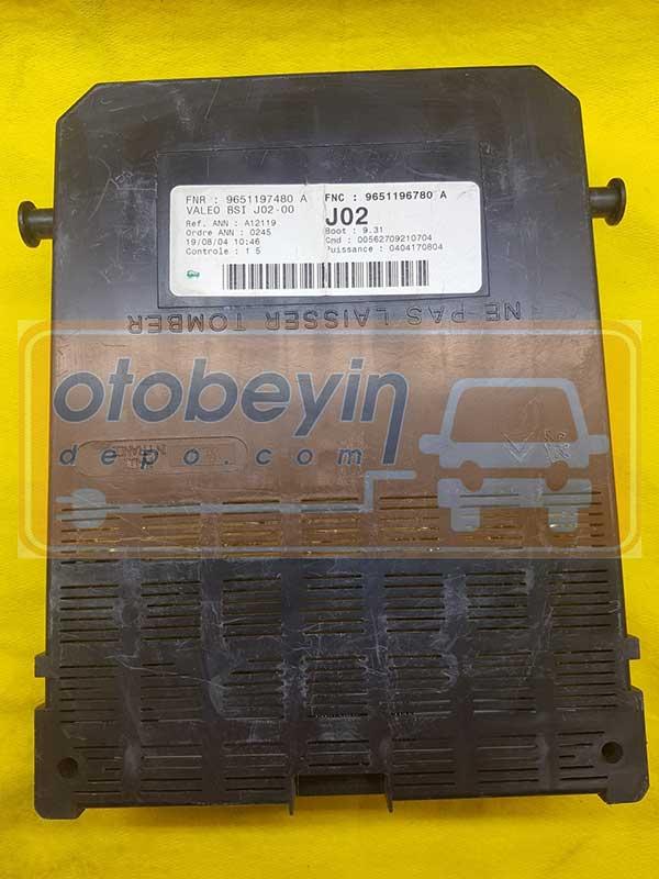 9651196780 A VALEO J02 BSI BEYNI 307