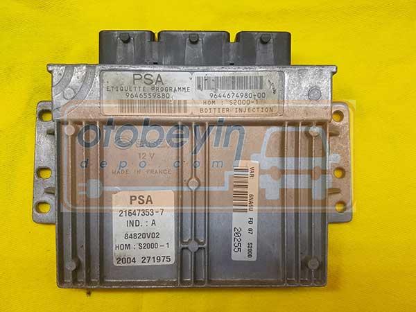 Citroen Xsara , Picasso 1.8 MOTOR Beyni 9646559880 9644674980-00
