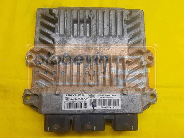 Citroen C3 Motor Beyni 5WS40068C-T SW9652888580 SID 804 CEM00 HW9648624280