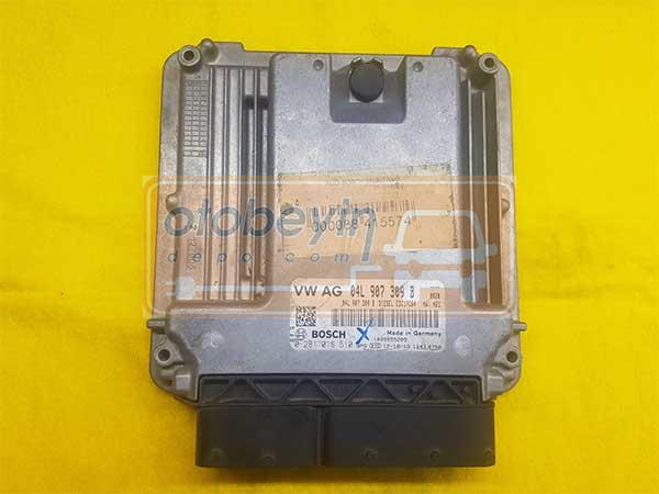 VW GOLF 1.6 TDI AUDI A3 1.6 TDI DİESEL MOTOR BEYNİ 04L907309B EDC17C64 BOSCH 0281018510