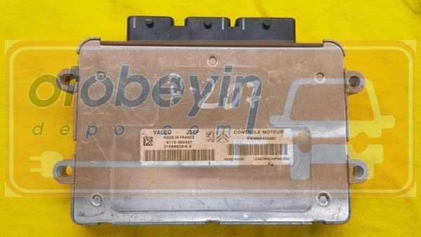 Peugeot 207 1.4 Motor Beyni VALEO J34P SW9665424480 9665424480