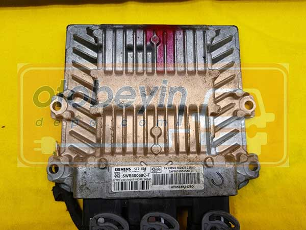 Citroen C3 Motor Beyni 5WS40068C-T SW9652888580 SID 804