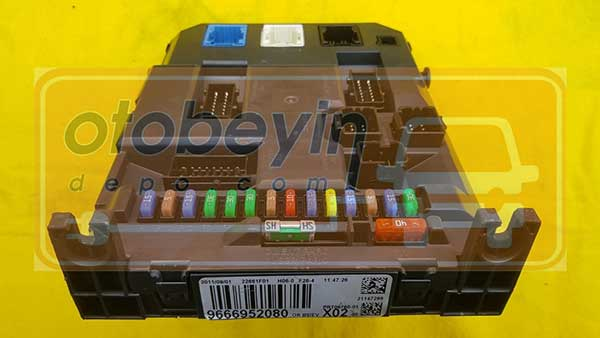 PEUGEOT 207 CİTROEN C3 DS3 9666952080 BSİ BEYNİ